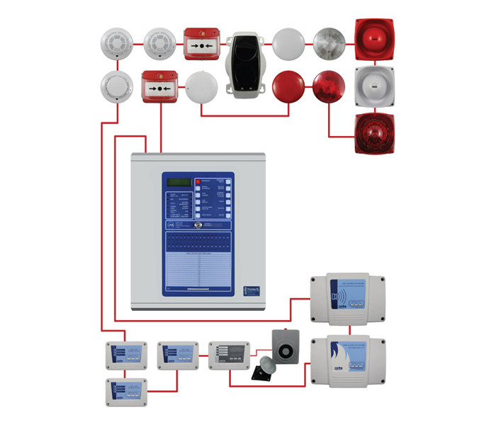 conventional fire alarm panel wiring diagram images, Wiring diagram